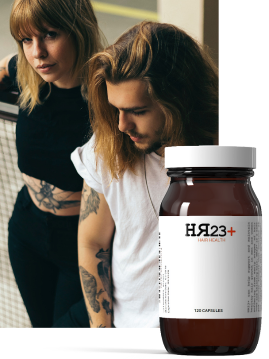 HR23+ hair loss treatment supplement for baldness and thinning hair